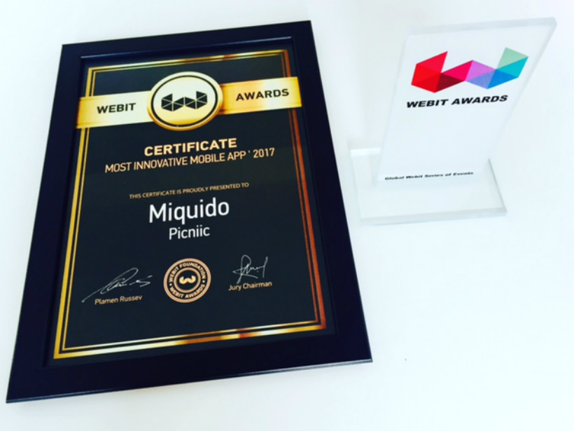 Webit Awards: Miquido & Picniic won the Most Innovative Mobile App category in CEE!