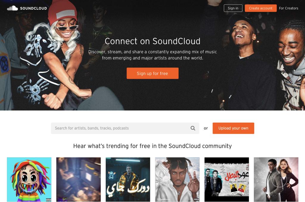 SoundCloud - Golang music app