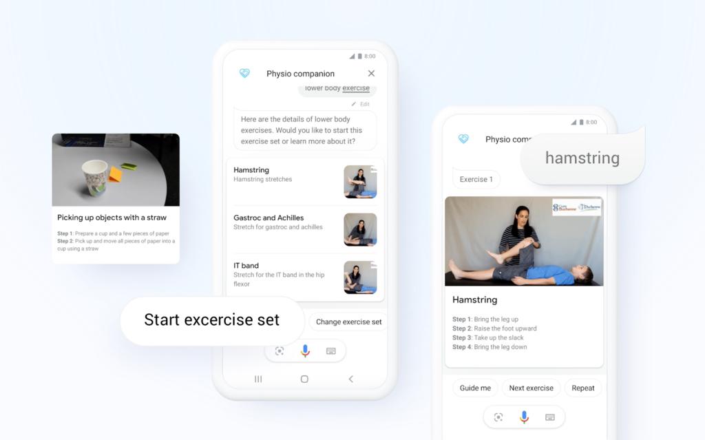 Physio healthcare app