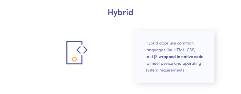 The difference between Hybrid apps vs cross-platform