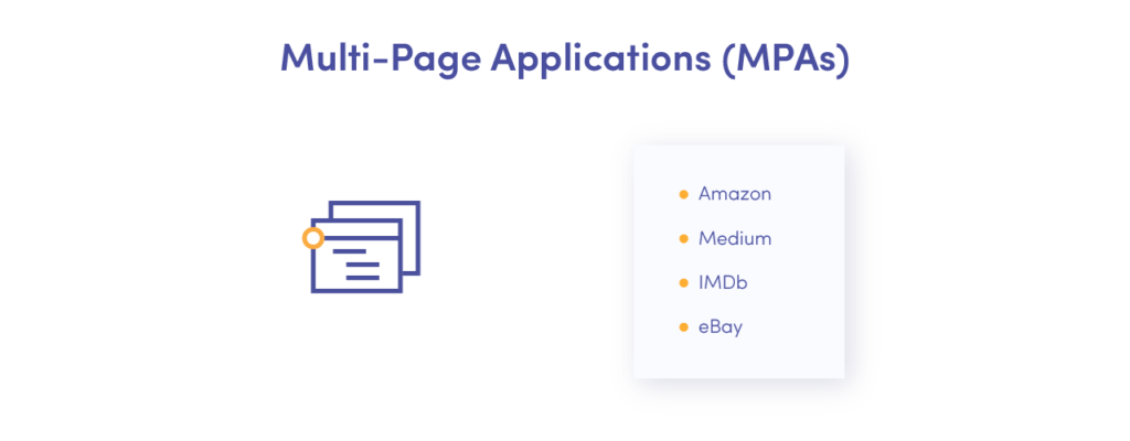 Benefits of multi-page applications
