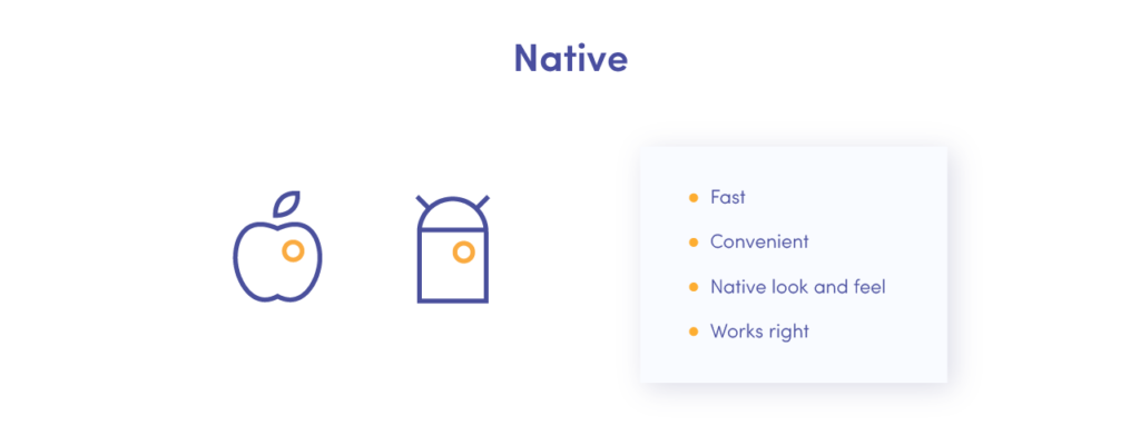 Benefits of native applications