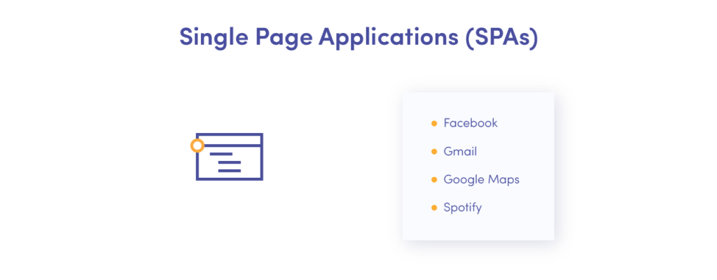 Benefits of single-page apps